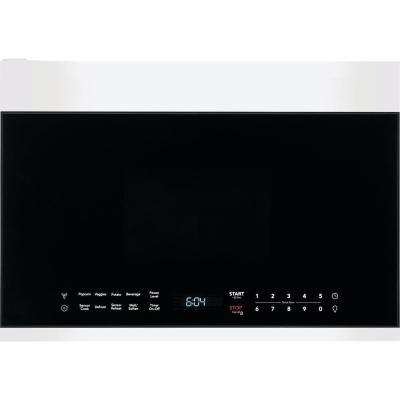 1.4 cu. ft. Over-the-Range Microwave in White with Automatic Sensor Cooking Technology