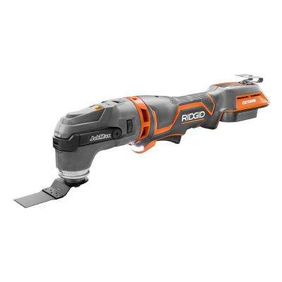 18-Volt OCTANE Cordless Brushless JobMax Multi-Tool with Tool-Free Head