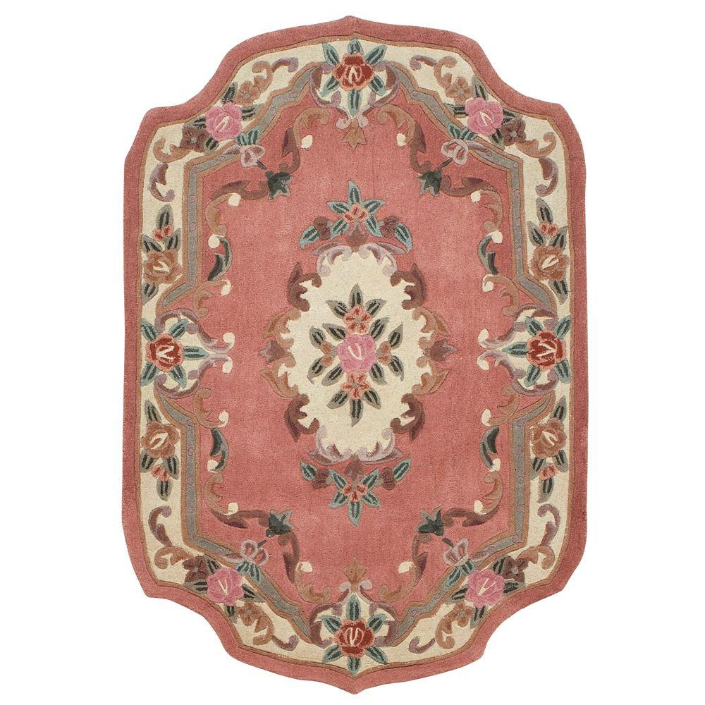 Home Decorators Collection Imperial Peach 8 ft. x 11 ft. Shape Area Rug