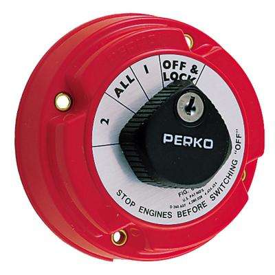Locking Battery Selector Switch