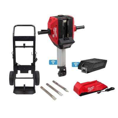 MX FUEL Lithium-Ion Cordless 1-1/8 in. Breaker with Battery and Charger