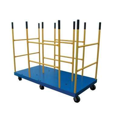 3,000 lb. Capacity 36 in. x 72 in. Platform Cart with Versatile Dividers