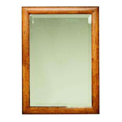Apothecary 20 W Mirror in Antique Oak-DISCONTINUED