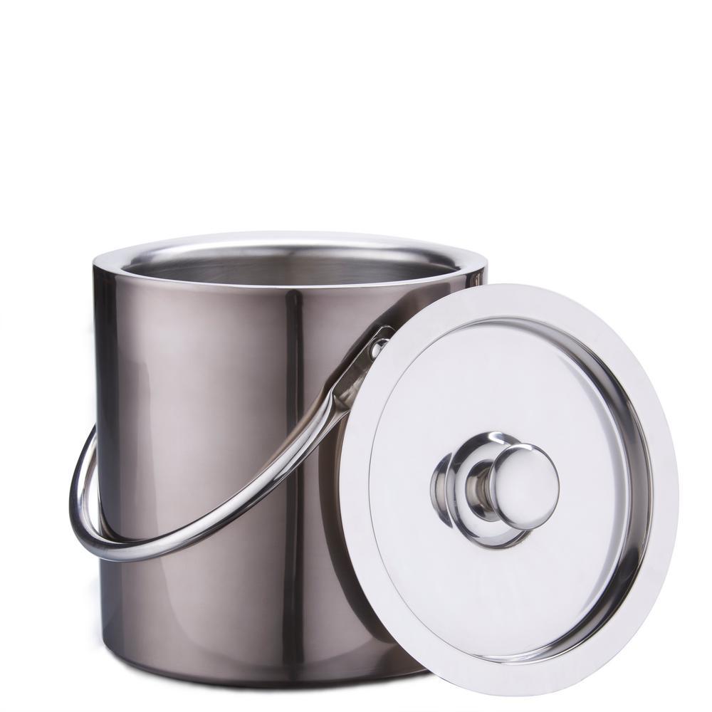 3 Qt. Gunmetal Ice Bucket