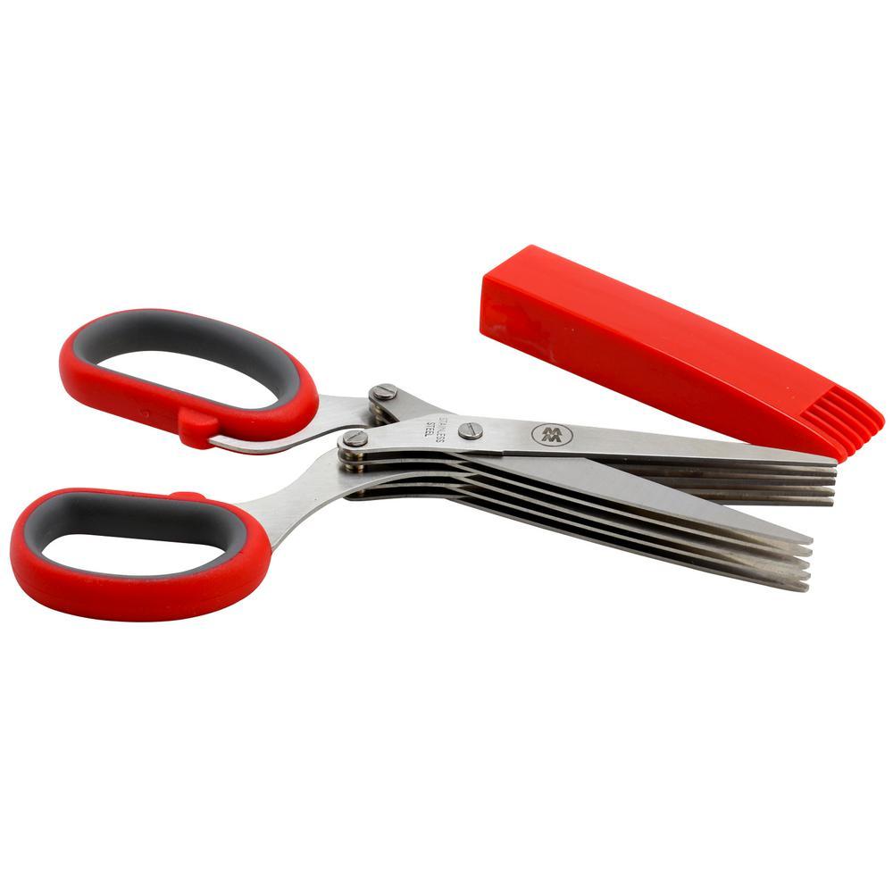 Desmond 4.56 in. Herb Scissors with Sheath