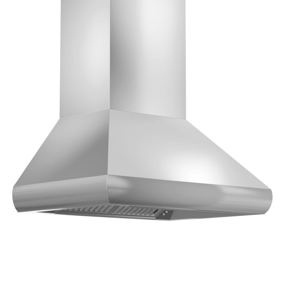 Zline Kitchen And Bath 36 In Wall Mount Remote Er Range Hood Stainless