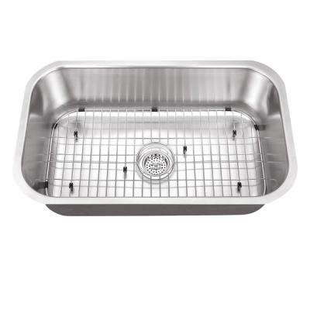 Undermount Stainless Steel 30 in. Single Bowl Kitchen Sink