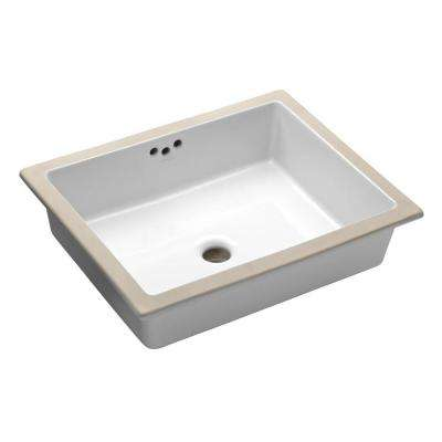 Kathryn Vitreous China Undermount Bathroom Sink. Undermount Bathroom Sinks   Bathroom Sinks   The Home Depot