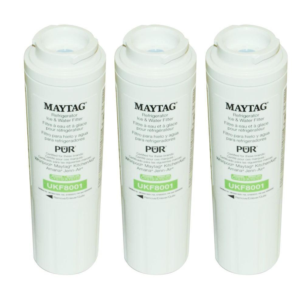 Maytag UKF8001 Refrigerator Water Filter (3-Pack)