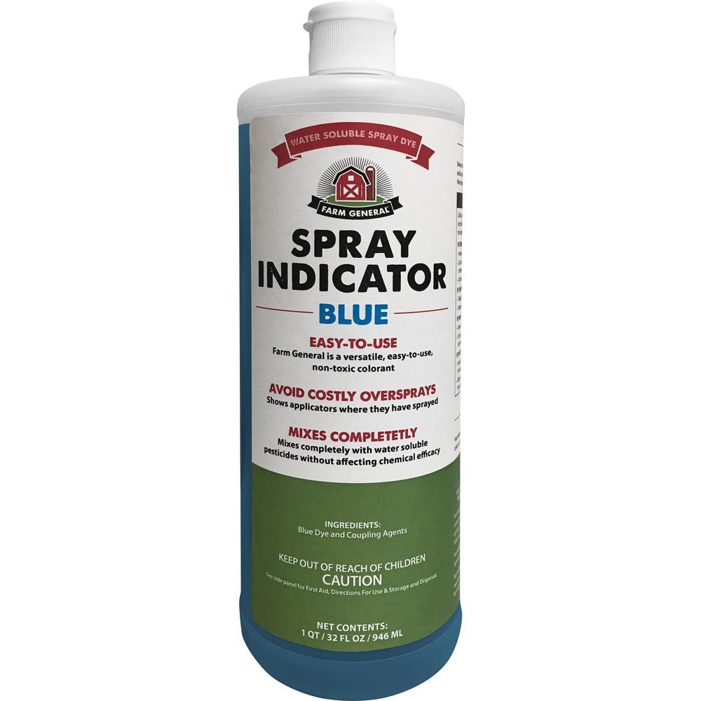 32 oz. Spray Dye Indicator Blue Spray Aid