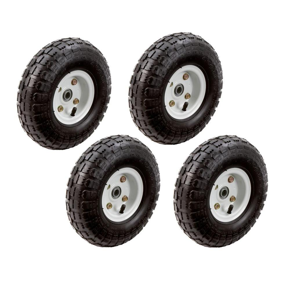 Farm Amp Ranch 10 In Pneumatic Tire 4 Pack Fr1055 The