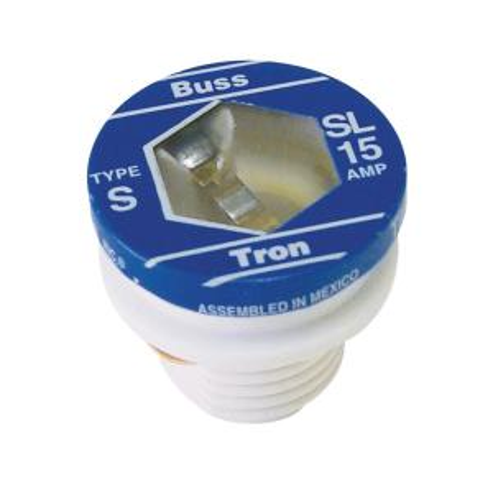 [FPER_4992]  Cooper Bussmann SL Style 15 Amp Plug Fuse (4-Pack)-SL-15PK4 - The Home Depot | Sl Fuse Box |  | The Home Depot