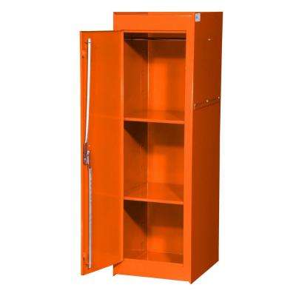 Tech Series 15-3/8 in. 2-Shelf Full Side Locker, Orange