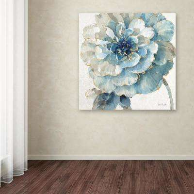 """24 in. x 24 in. """"Indigold VII"""" by Lisa Audit Printed Canvas Wall Art"""