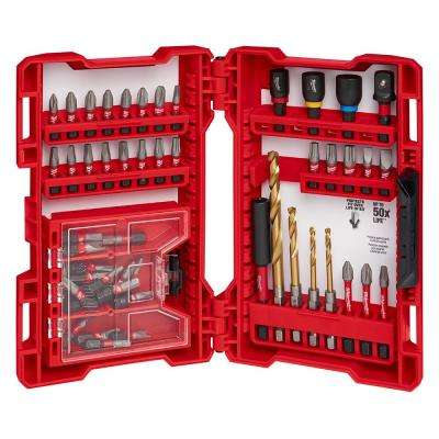 Shockwave Impact Duty Electrician's Drill and Drive Bit Set (52-Piece)