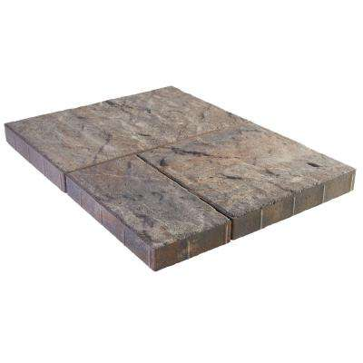 Panorama Supra 3-pc 15.75 in. x 15.75 in. x 2.25 in. Ashley River Blend Concrete Paver (60 Pcs. / 103 Sq. ft. / Pallet)