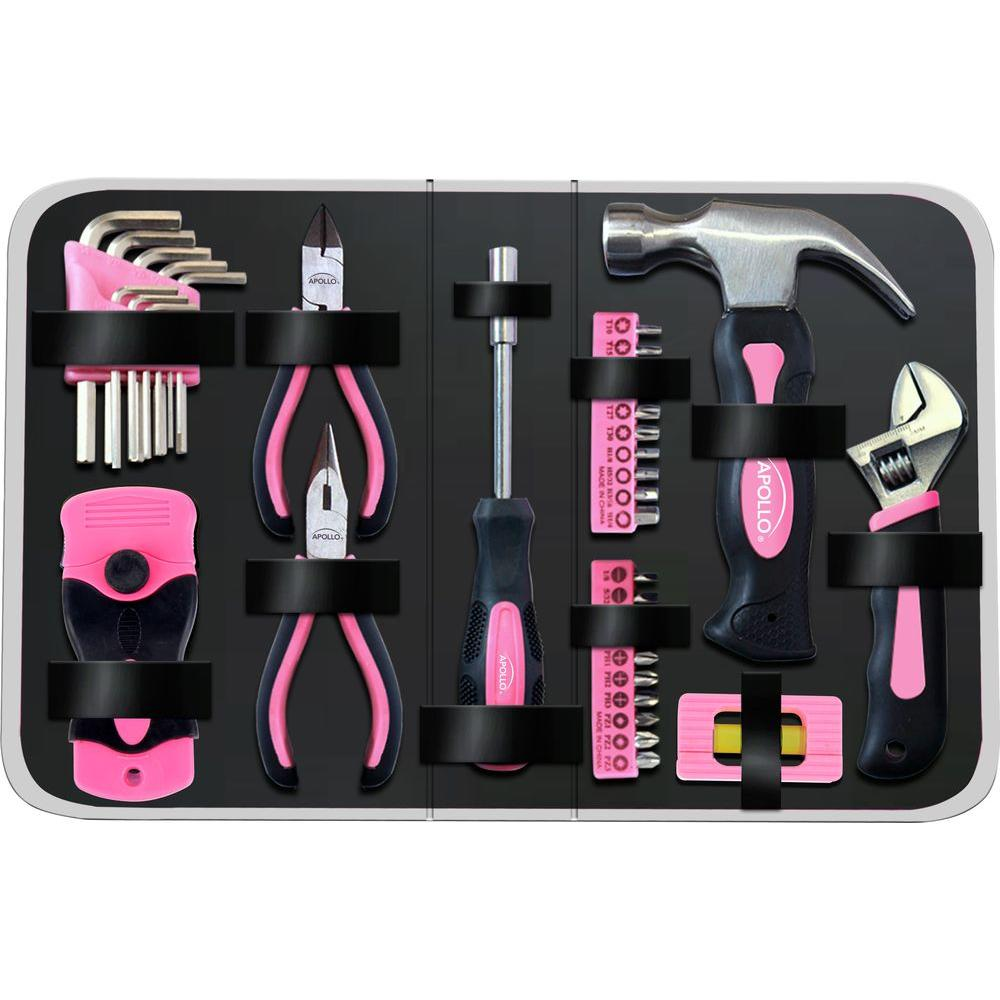 Household Tool Kit in Zippered Case (38-Piece)