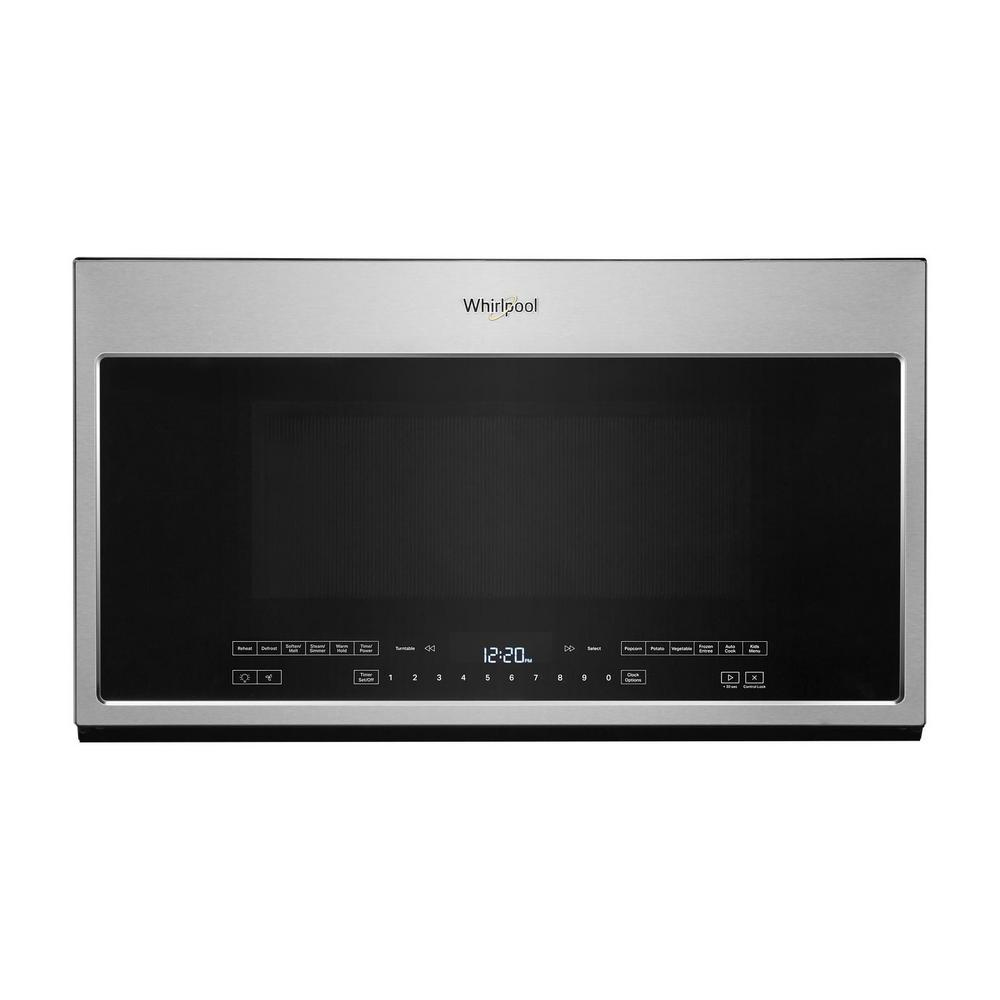 Whirlpool 2.1 cu. ft. Over the Range Microwave in Fingerprint Resistant Stainless Steel