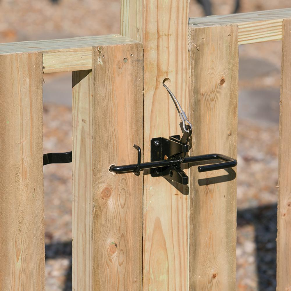 Fenix Two Way Fence Gate Latch 04034 The Home Depot