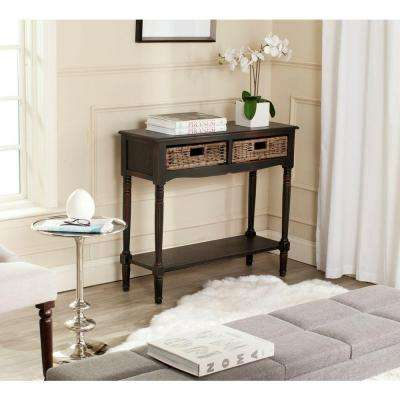Corbin Brown Storage Console Table