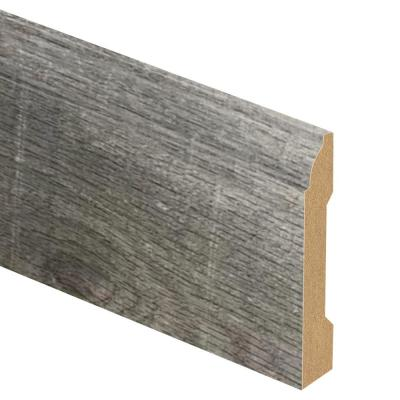 Ozark Lakes Driftwood 9/16 in. Thick x 3-1/4 in. Wide x 94 in. Length Laminate Base Molding