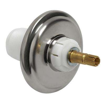 Hampton Valve Escutcheon Kit, Brushed Nickel