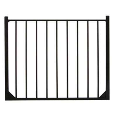 Meriden 4 ft. W x 4 ft. H Single Aluminum Fence Gate 2-Rail