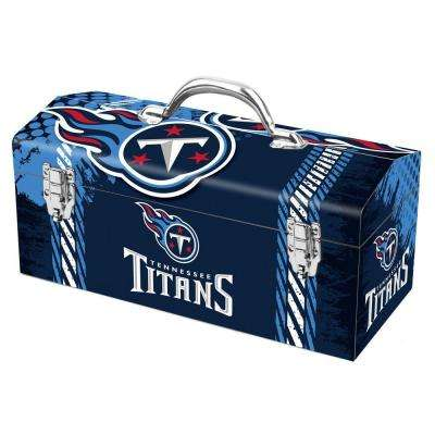 7.2 in. Tennessee Titans NFL Tool Box