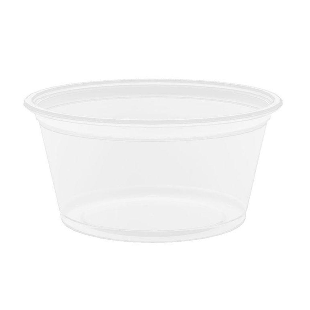 DART Conex Polypropylene Portion Container, 2 oz., Clear, 2500 Per Case