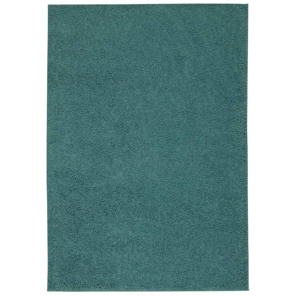 Nourison Bonita Turquoise 3 ft. 2 in. x 5 ft. Accent Rug