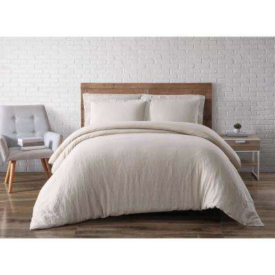 Linen Natural King Duvet Set