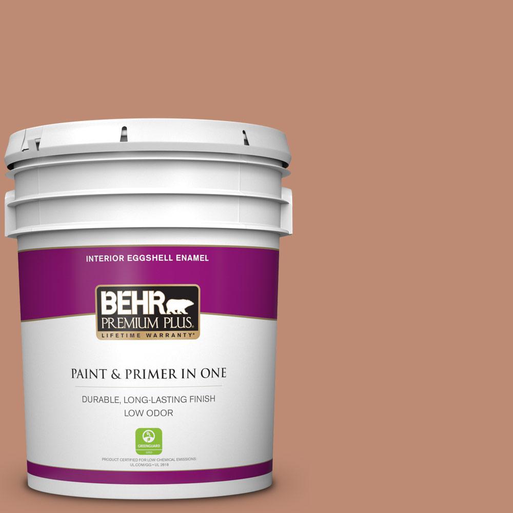 behr premium plus ultra 5 gal 230f 5 suntan glow satin enamel White Enamel Paint 230f 5 suntan glow eggshell enamel low odor