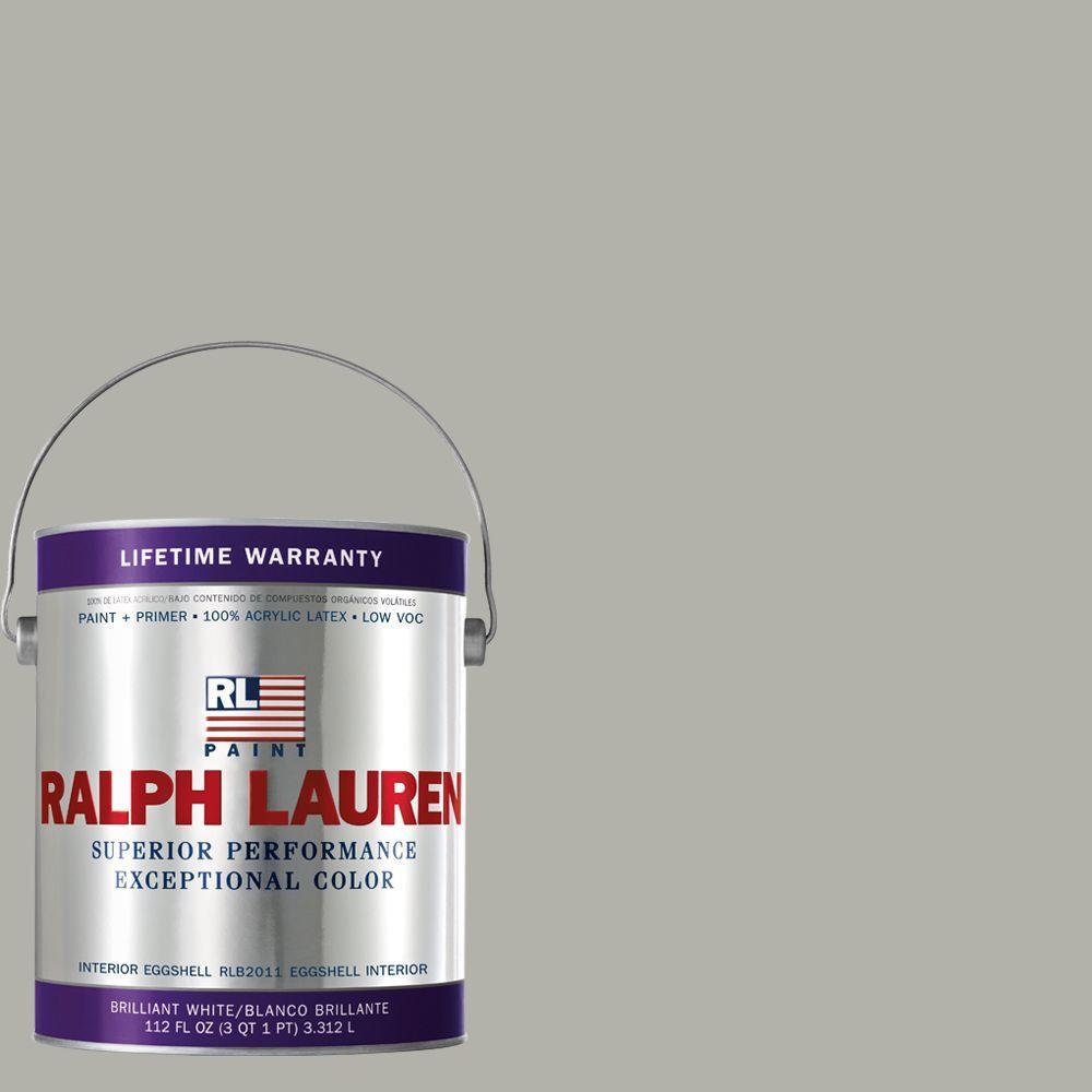 Ralph Lauren 1-gal. Lamp Room Grey Eggshell Interior Paint