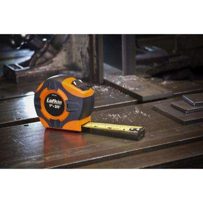 Legacy Series 1 in. x 25 ft. Chrome Tape Measure