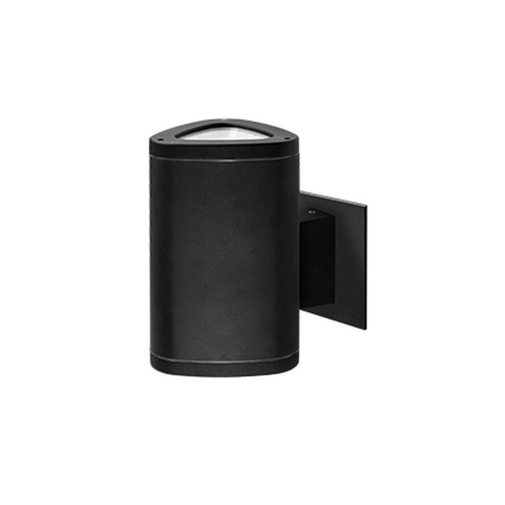 Lisle Black Outdoor Integrated LED Wall Mount Sconce