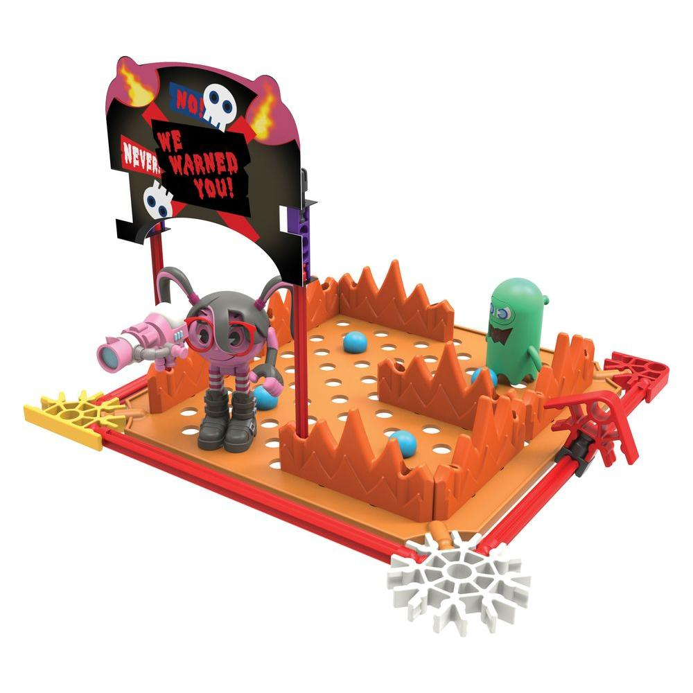 Pac-Man Cylindria's Netherworld Maze Building Play Set