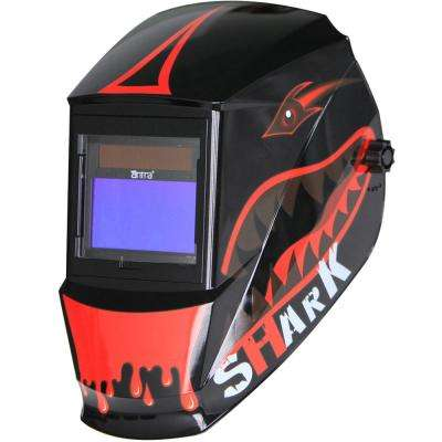 Solar Power Auto Darkening Welding Helmet with Large Viewing Size 3.86 in. x 2.09 in. Great for MMA, MIG, TIG
