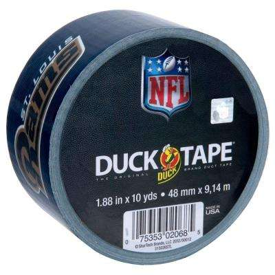1.88 in. x 10 yds. St. Louis Rams Duct Tape (Case of 18)