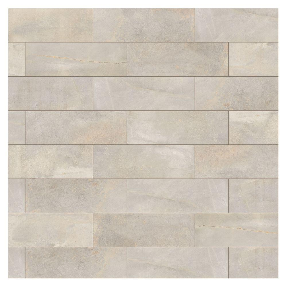 Marazzi Developed by Nature Pebble 6 in. x 18 in. Glazed Ceramic Wall Tile (270 sq. ft. / pallet)