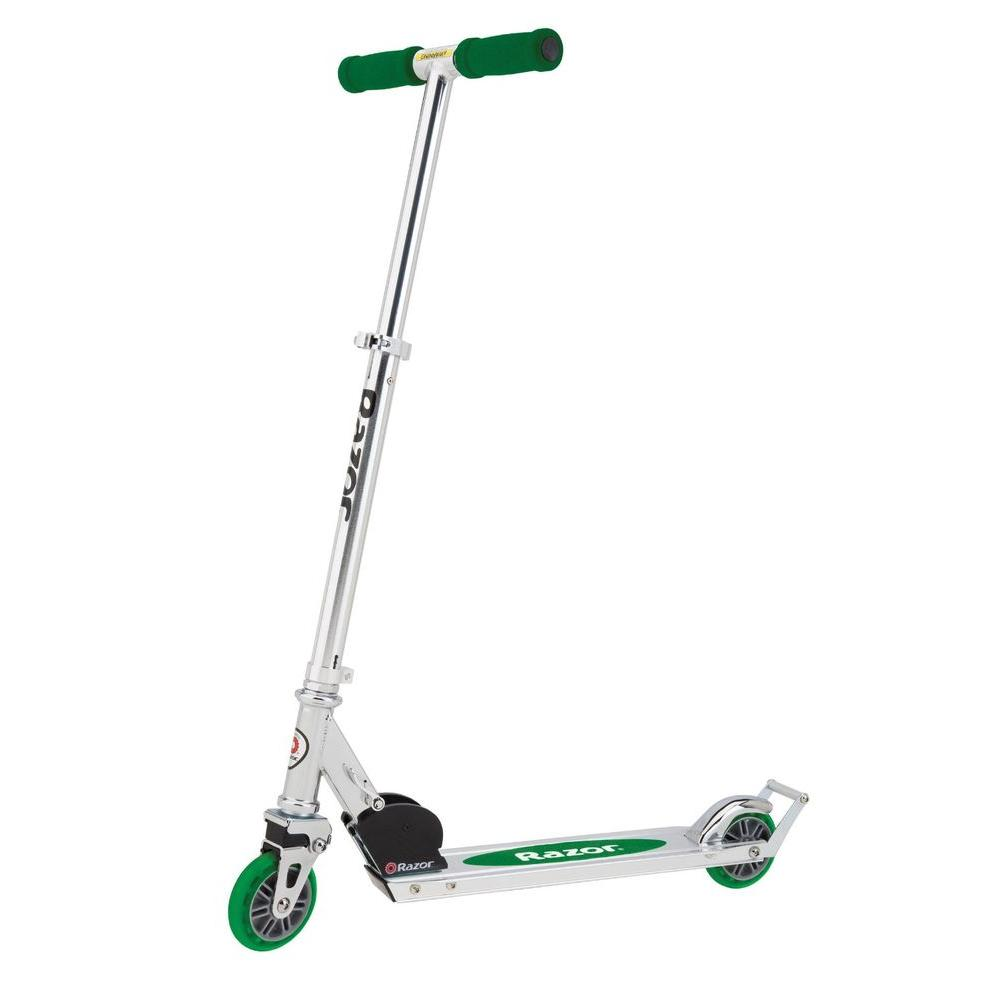 null A3 Scooter in Green