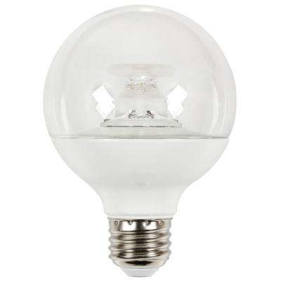 60W Equivalent Soft White G25 Dimmable LED Light Bulb