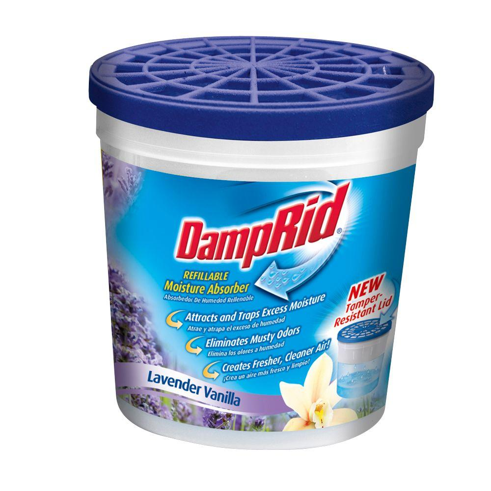 DampRid 10.5 oz. Lavender Vanilla Refillable Moisture Absorber