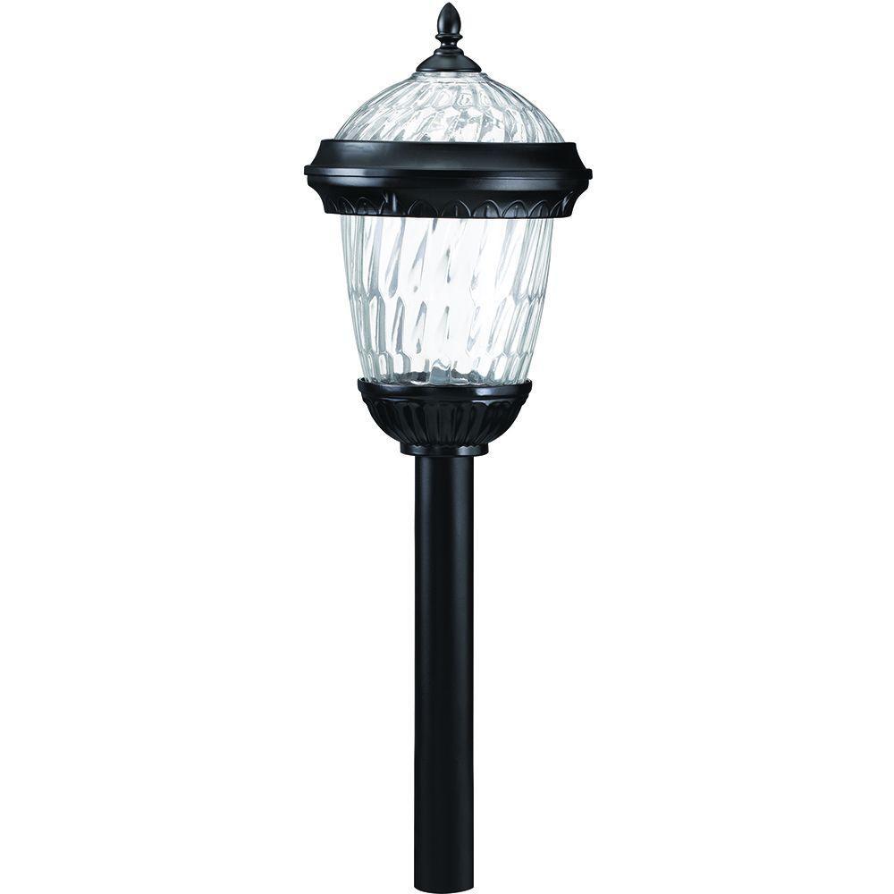 Westinghouse Orleans Black Solar Path Light (6-Piece)