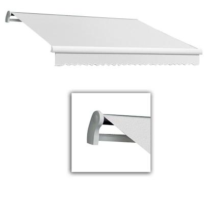 20 ft. Maui-LX Manual Retractable Awning (120 in. Projection) Off White