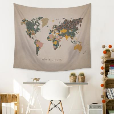 """Adventure Map"" Wall Tapestry"