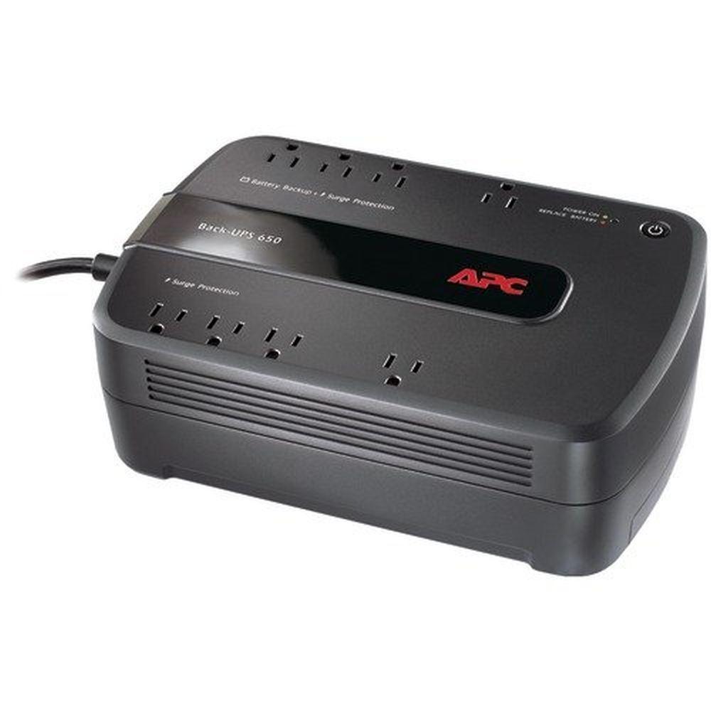 APC Back-Ups 650VA 8OUTLET