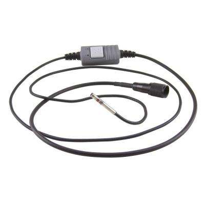 9.8 ft. Switchable Front/Side View Probe for High-Performance Video Inspection Systems