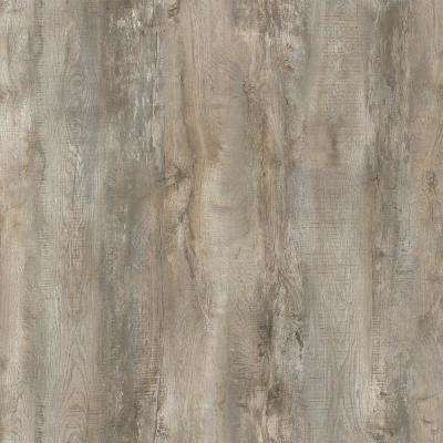 Take Home Sample - Buckhorn Gray Oak Rigid Core Luxury Vinyl Plank Flooring - 4 in. x 4 in.