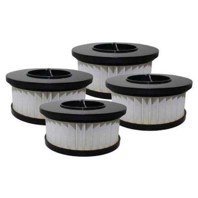 Cartridge Filters Replacement for Eureka DCF19 Part 63950 (4-Pack)