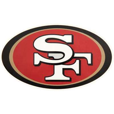 NFL San Francisco 49ers Outdoor Logo Graphic- Small